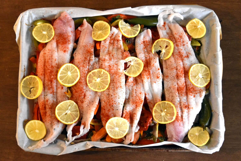 Noki's Moroccan Fish and Veggies