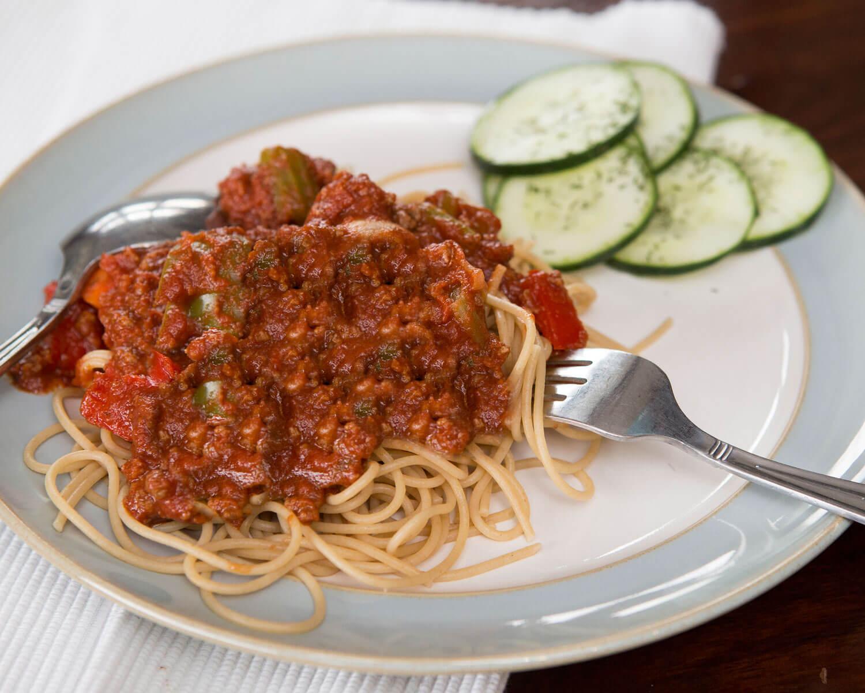 Mom's Spaghetti and Meatsauce