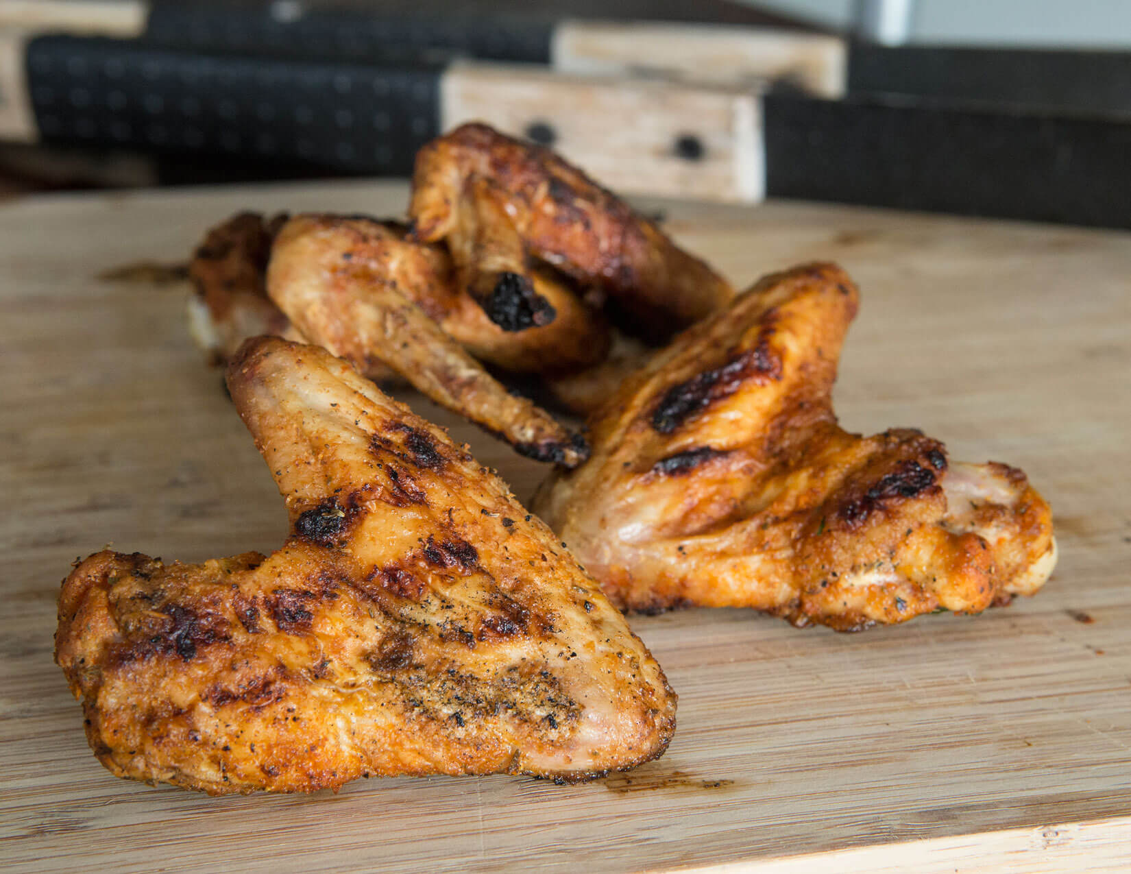 Grilled Spiced Wings