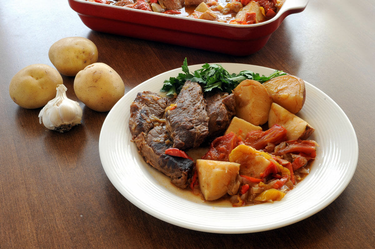 Hungarian Chuck Steak with Potatoes