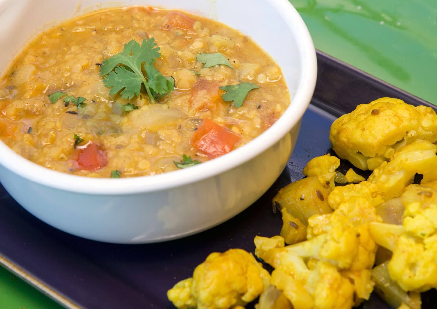 Spiced Indian Lentils