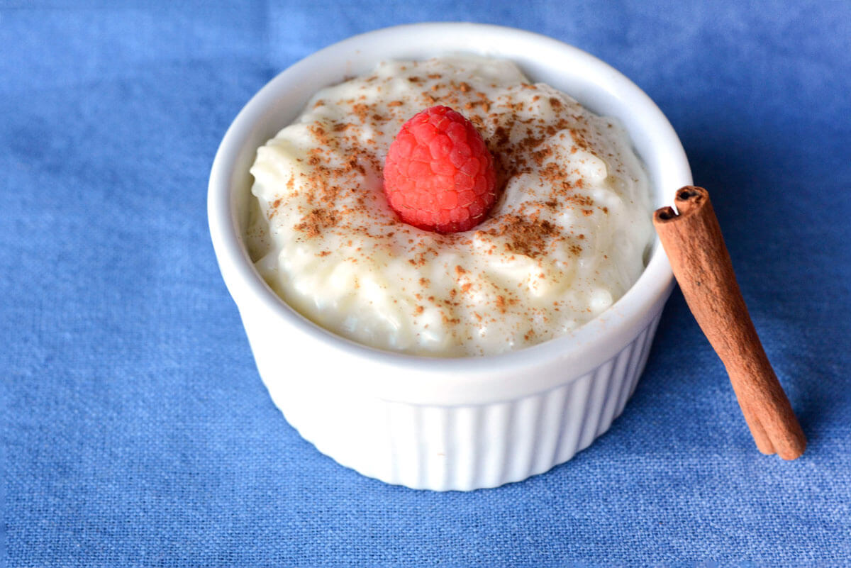Easy (and Healthy) Rice Pudding